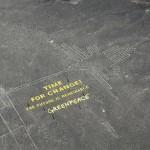 <グリーンピース>ナスカの地上絵間近で違法な巨大メッセージ活動PR!文化財破損の容疑で出国禁止