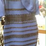 青と黒?白と金?今世界中で話題の色が人によって違って見えるドレスの画像