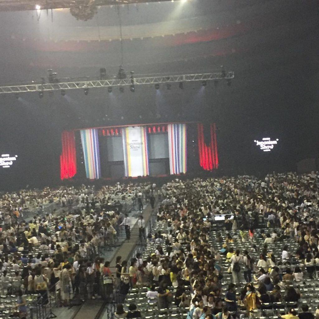 """ARASHI """"Japonism Show"""" in ARENA mwave 2"""