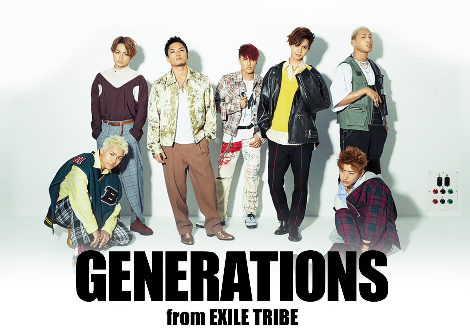 """GENERATIONS LIVE TOUR 2018 """"UNITED JOURNEY""""   EXILE TRIBE mobile"""